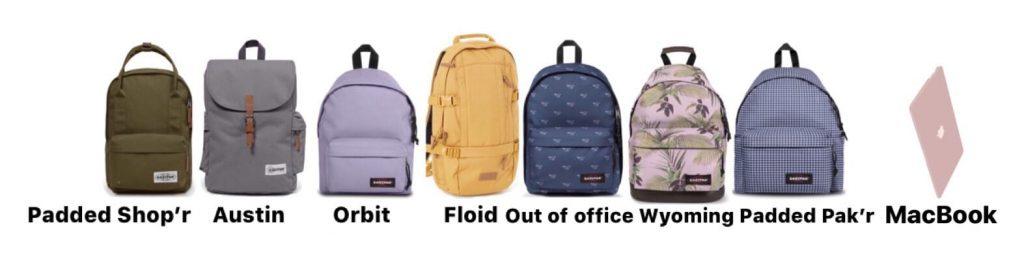 Modelos de mochilas ispac