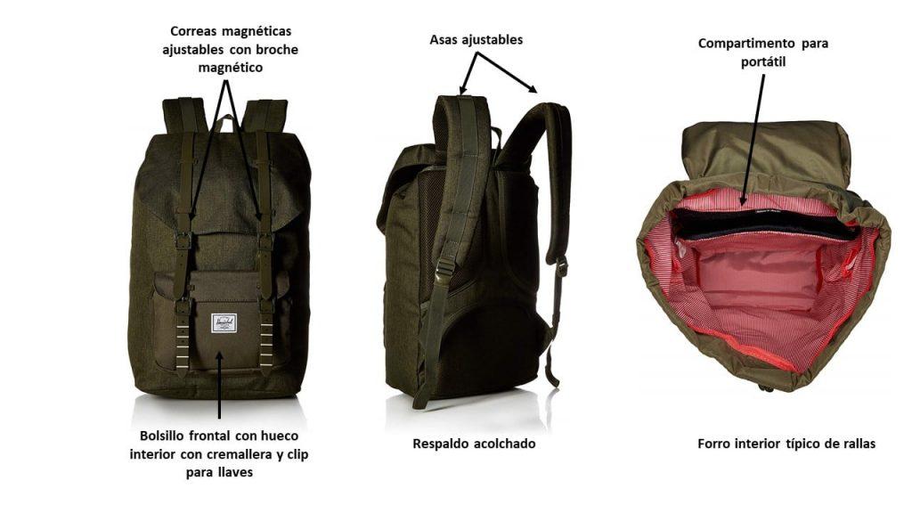 Características de la mochila Herchel Little America