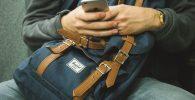 Mochila Herschel y iPhone
