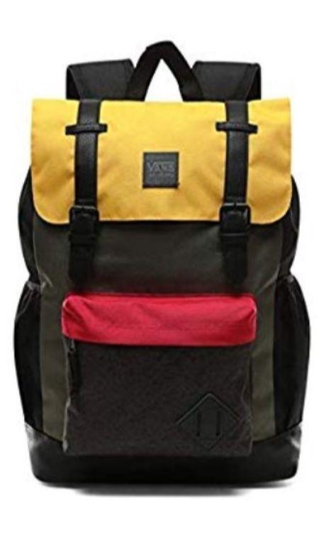 mochilas vans negra escolar